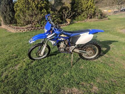 2003 Yamaha WR450F Upper Tenthill Lockyer Valley Preview