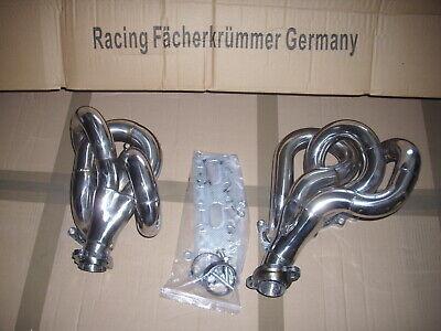 Header Mercedes W124 300 E/TE/CE-24 3.4L M 104 Motor Fächerkrümmer Edelstahl Neu