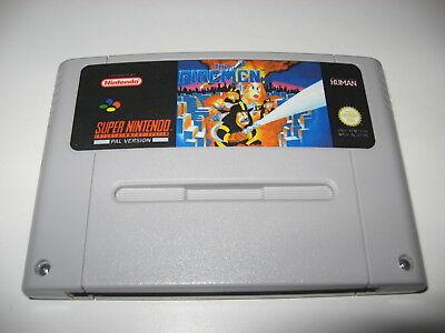 The Firemen Super Nintendo PAL english lang SNES very good condition