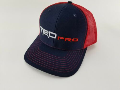 TRD PRO - TOYOTA - 4-Runner, Tundra, Tacoma, Trucker BALL CAP HAT!