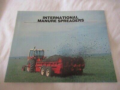 Ih International 530 540 550 575 595 Manure Spreaders Brochure