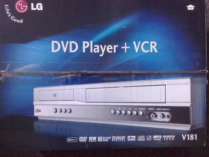 TV and VCR/DVD recorder