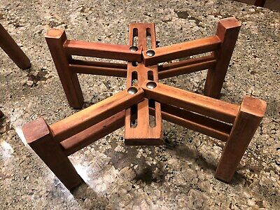 Solid Wood Speaker Stands for Sansui, JBL, Pioneer, Marantz, AR3a and Others