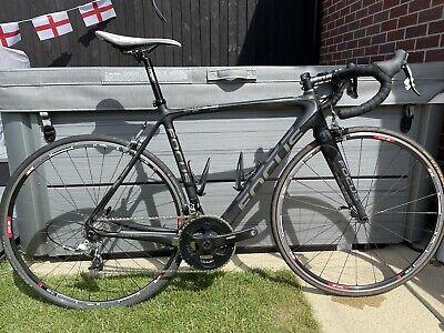Focus Izalco Pro Carbon Road Bike - Medium 54. SRAM RED chain set.