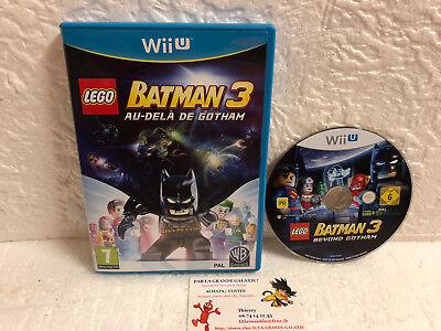 Jeu Vidéo Nintendo Wii U Lego Batman 3 Au-Delà de Gotham Warner Games DC Comics