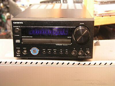 Onkyo CR-315 CD-Receiver  Mit Original Fernbedienung (High End)