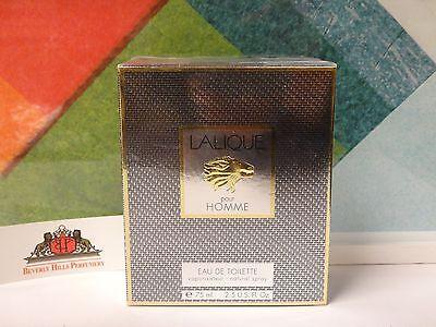 LALIQUE POUR HOMME EAU DE PARFUM SPRAY 2.5 OZ / 75 ML NEW IN BOX
