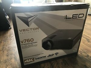 New projector for sale including projector screen