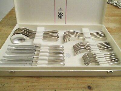 WMF Atrium Patent 90 Silber 6 Personen 30 Teile Note 2 Besteck Menübesteck TOP  online kaufen