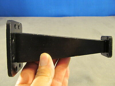 Waveguide Wr159 - Wr62 Transition 6.00 Cprg X Cover Grooved 136