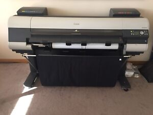 Large format color canon ipf-8100 printer plotter