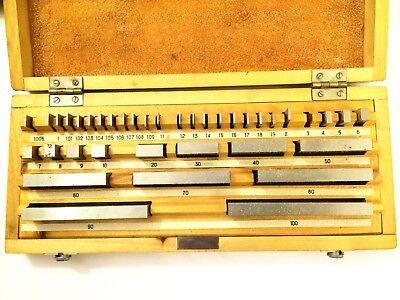 Parallel Endma 4 - 9 Mm Stckweise Aus Stahl Udssr Gauge Block Endmass