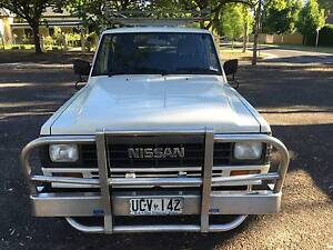 1985 Nissan Patrol Deluxe Wagon Man. 4x4 3.2L Turbo Diesel 7 Seat Kensington Gardens Burnside Area Preview