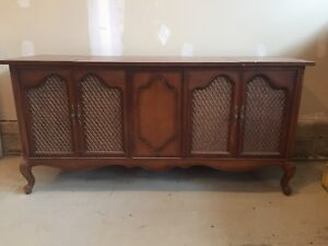 Antique Cabinet Record Player