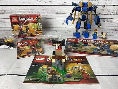 LEGO Ninjago Lot 2516 Ninja Training Outpost 70754 ElectroMech, 70752