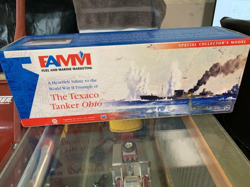 TEXACO/CHEVRON TANKER OHIO NIB special edition auth # 02405