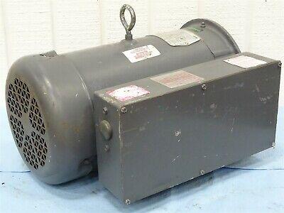 Baldor Cl3612tm Electric Motor 1-phase 5hp 1725rpm 230vac 23a 60hz Tefc 184tc