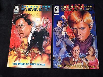 Man From Uncle Comic Books 1 0F 2 And 2 Of 2  1993