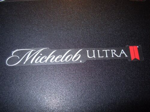 "MICHELOB ULTRA 4.25"" Logo STICKER decal craft beer brewery brewing"