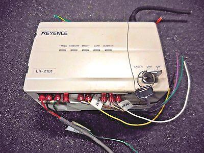 Keyence Lk-2101 Ccd Laser Displacement Controller Lk-081 Laser Sensor Cable