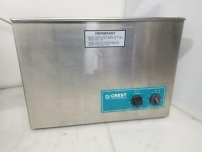 Crest Ultrasonics 2600ht Powersonic Ultrasonic Cleaner