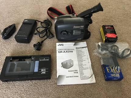 JVC VHS Camcorder