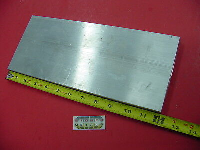 58x 5 Aluminum 6061 Flat Bar 12 Long T6511 Solid .625 Plate Mill Stock