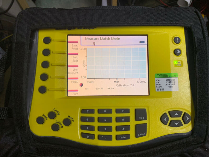 Bird SA-1700 Site / Cable analyzer