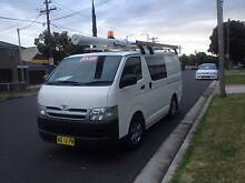 TOYOTA HIACE LWB 2007 EX ENERGY, AUTOMATIC, 1 OWNER, FULL RACKS!! Lidcombe Auburn Area Preview