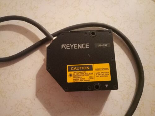 Keyence LK-G37 High Accuracy Laser Sensor New Old Stock