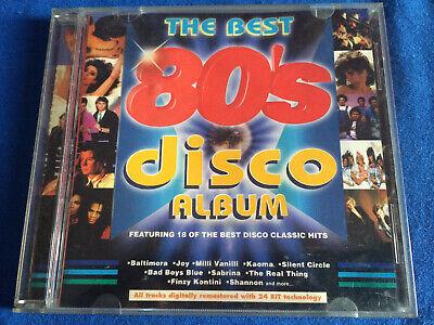 VARIOUS ARTISTS - The Best 80's Disco Album CD 80's Pop / Synth Pop