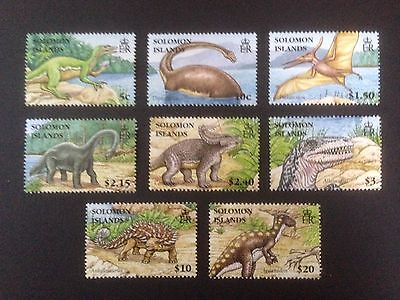 Solomon Islands 2006 Dinosaurs Set SG 1194-1201 MNH