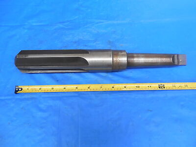 1.8920 Dia Flute Reamer With Morse Taper 4 Shank Oversize 1 78 1.8920-.017