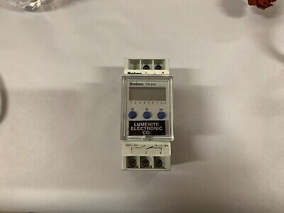 Theben Tr610 Programmable Timer Switch 7day24hour Switch Current 16a Free Ship