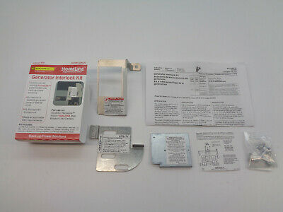 Square D Homcgk2c Homcgk2 Generator Interlock Kit For Hom Panels New In Box