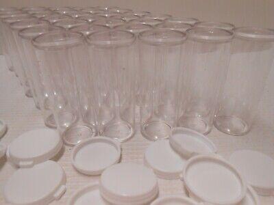 Brand New Thornton Plastics Plastic Snap Cap Vials 9 Drams 35 Piece