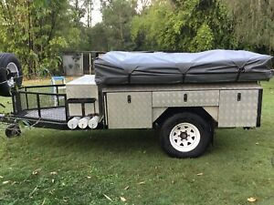 OFF ROAD CAMPER TRAILER... LOADS of storage and features included!