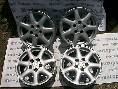 "1998-2004 CADILLAC SEVILLE 16"" X 7""  7 SPOKE PAINTED WHEEL RIM w/ CAPS 9592894"
