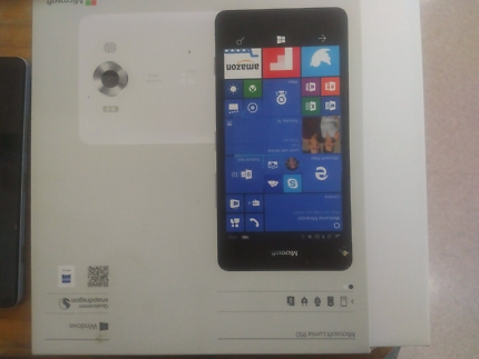 Samsung galaxy s6 32gb + Microsoft lumia 950 as new