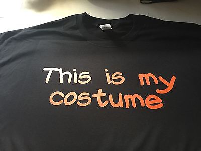 t-shirt This is MY costume easy halloween party custom made order pink - Halloween Costume Made Easy