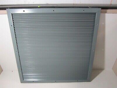26-18 H X 26-14 W Steel Intakeexhaust Gray Door Louver Air Vent W Fasteners