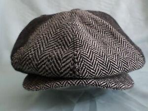 GENTS-TRENDY-8-PIECE-RETRO-NEWSBOY-8-PANEL-HAT-1920S-1930S-BAKER-BOY-CAP