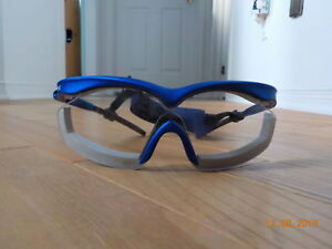 SPORT SAFETY GLASSES WITH STRAP