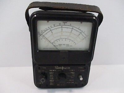 Simpson 260 Series 2 Multimeter - Untested - No Lead Wires