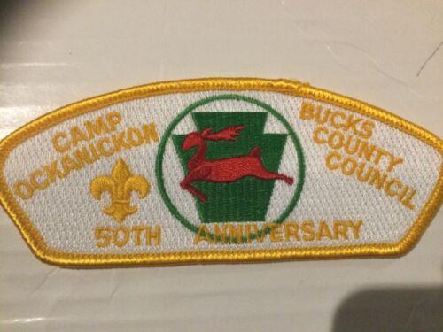 Bucks County Council CSP SA-30 Yellow Camp Ockanickon 50th Anniversary SALE!!