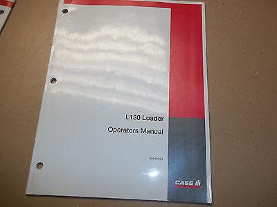 Caseih L130 Front End Loader Operators Manual