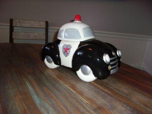 Vintage Cookie Jar Police Car ~ NICE!!!