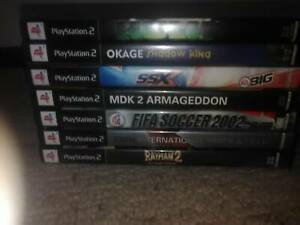 8 x PS2 Games $20 the lot