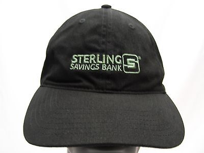 Sterling Savings Bank   Embroidered   Adjustable Ball Cap Hat