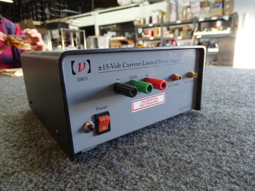 New Focus 0901 DC Power Supply +/-15V 0.1A, Load Tested